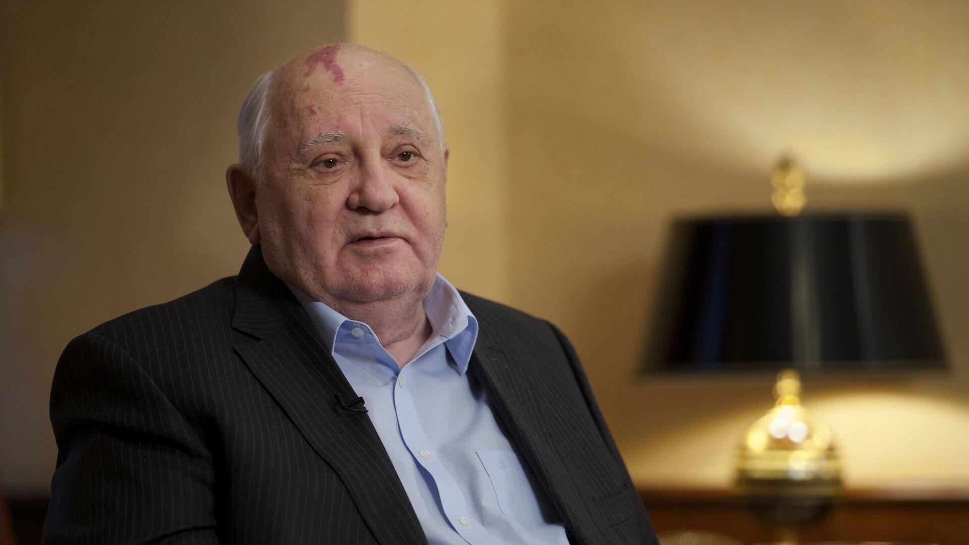 Bývalý prezident SSSR Michail Gorbačov - Sputnik Česká republika, 1920, 31.07.2021