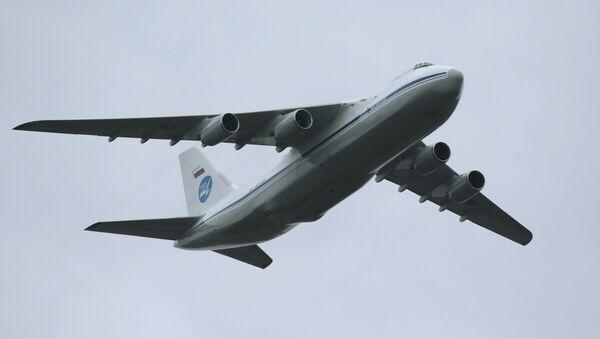 Letadlo An-124 Ruslan - Sputnik Česká republika