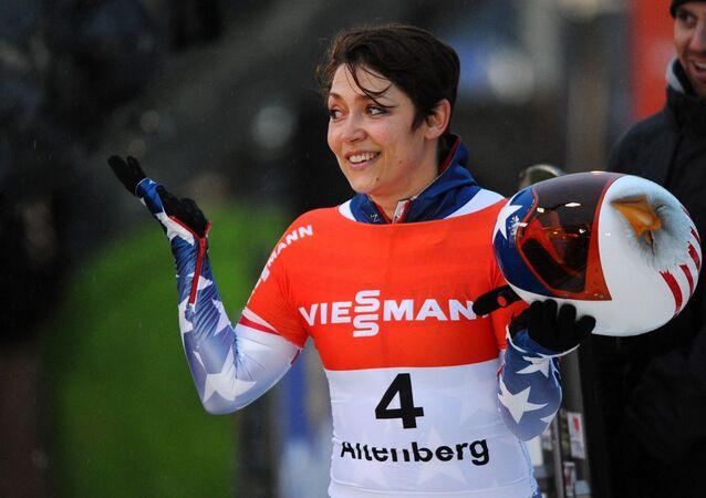 Americká sportovkyně Katie Uhlaenderová