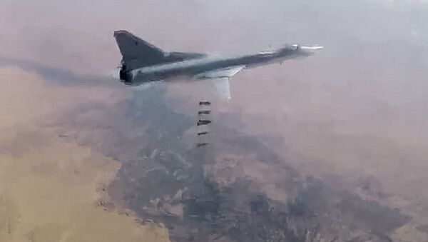 Útok VKS RF na objekty teroristů v Sýrii - Sputnik Česká republika