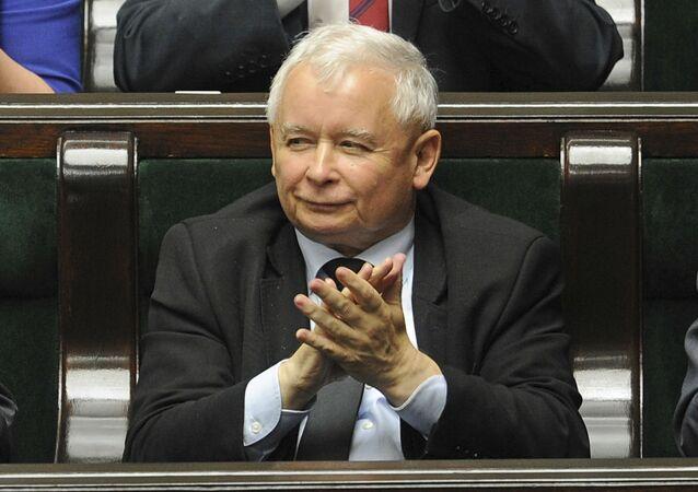 Lídr v Polsku vládnoucí strany Právo a spravedlnost Jaroslaw Kaczyński