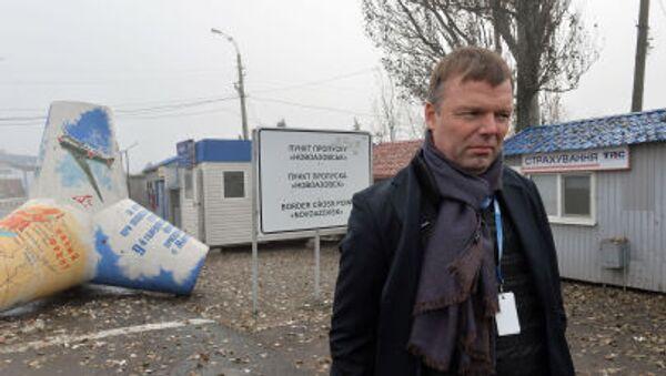 Bývalý první místopředseda Speciální pozorovací mise OBSE na Ukrajině Alexandr Hug - Sputnik Česká republika