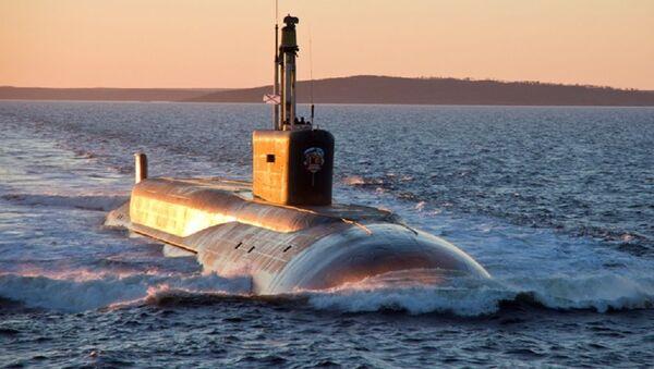 Ponorka Kníže Požarskij třídy Borej - Sputnik Česká republika