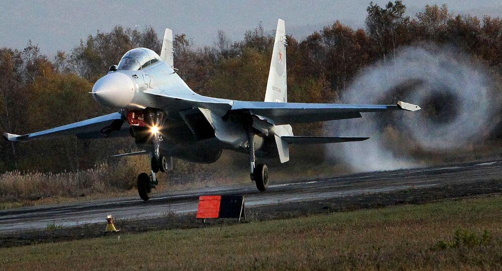 Stíhačka Su-30 M2