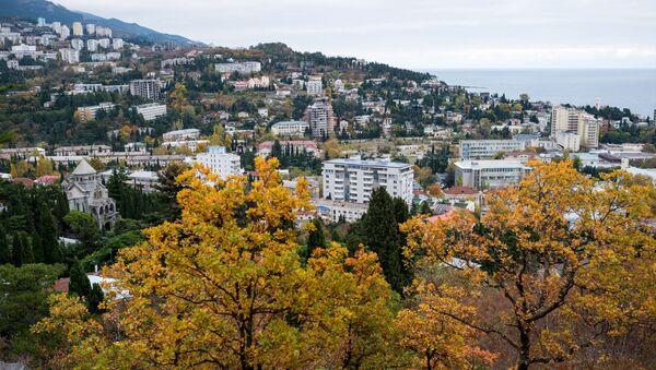 Pohled na Jaltu, Krym - Sputnik Česká republika