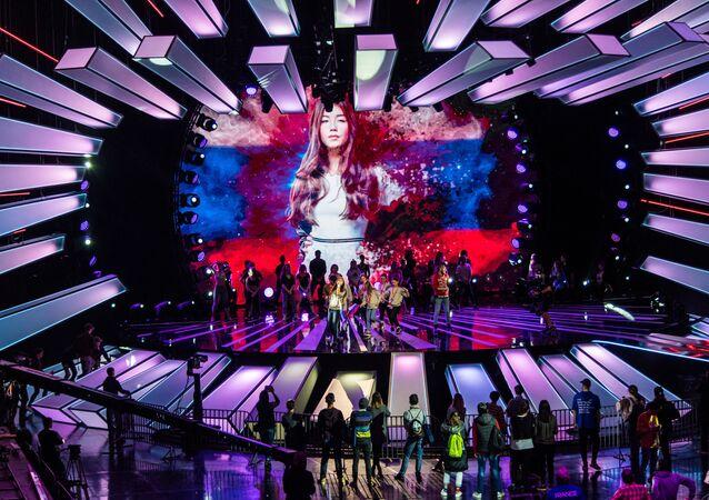 Čtrnáctiletá Polina Bogusevičová z Ruska vyhrála hudební soutěž Dětská Eurovize 2017