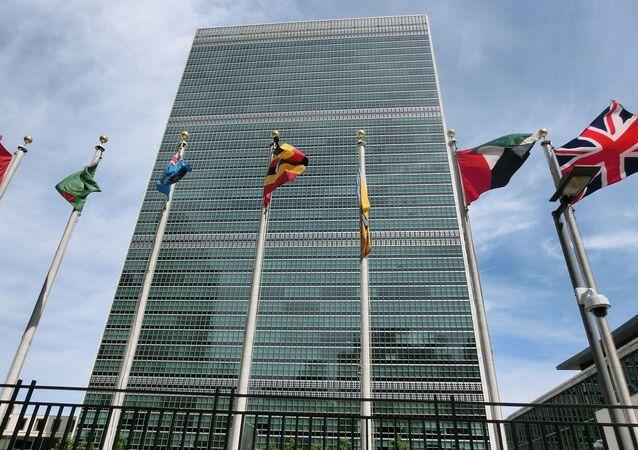 Budova OSN v New Yorku. Ilustrační foto