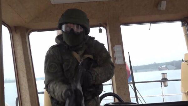 Cvičení námořní pěchoty - Sputnik Česká republika