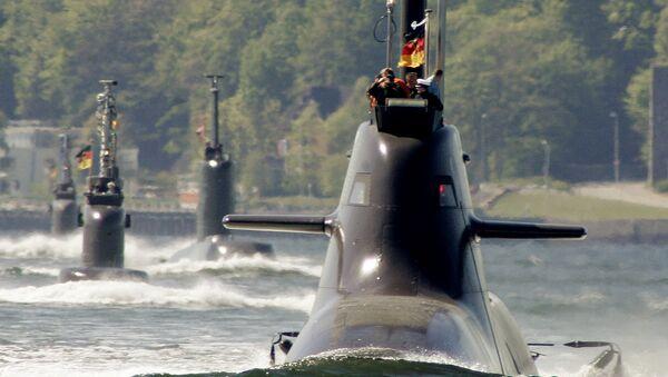 Ponorky německého námořnictva. Ilustrační foto - Sputnik Česká republika