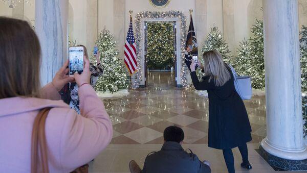 Vánoční výzdoba Bílého domu - Sputnik Česká republika