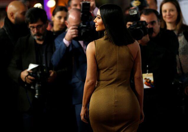 Televizní osobnost Kim Kardashian