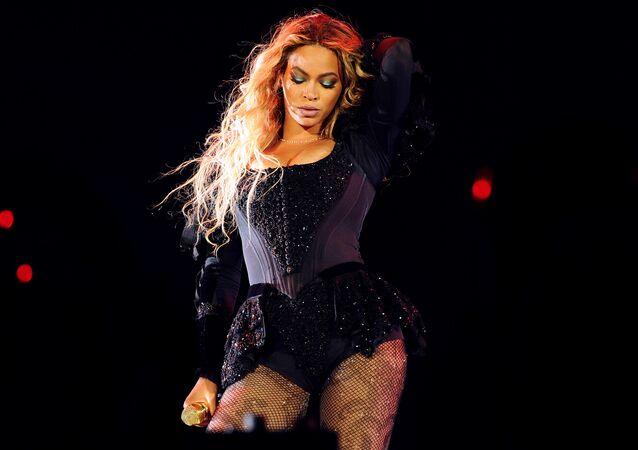 Zpěvačka Beyoncé