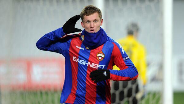 Tomáš Necid v dresu moskevského CSKA - Sputnik Česká republika