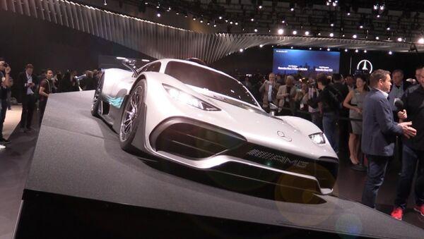 Mercedes představil nový hybrid - Sputnik Česká republika