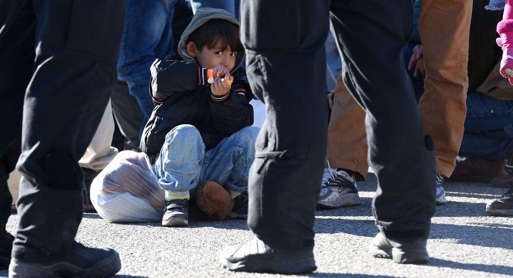 Uprchlíci na hranici
