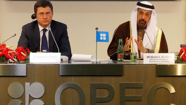 Tisková konference OPEC. Archivní foto - Sputnik Česká republika