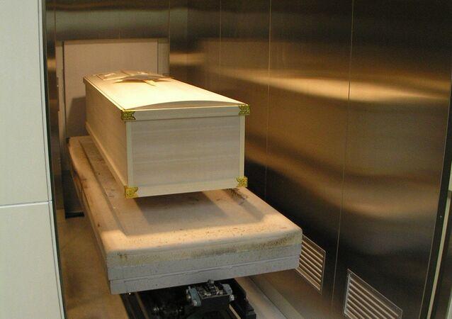 Krematorium. Ilustrační foto
