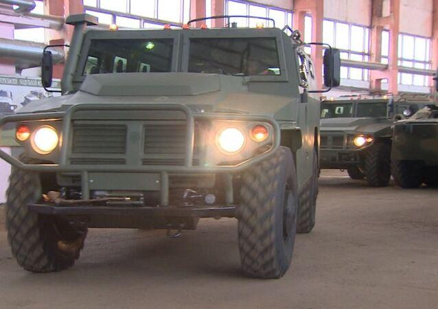 Obrněné vozidlo Tygr
