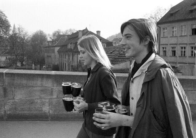 Mládež na ulici v Praze, 1969
