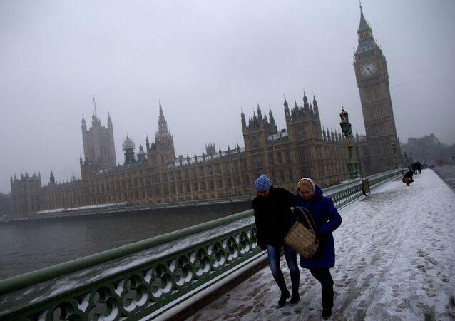 Chumelenice v Londýně