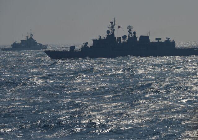 Lodě NATO v Černém moři. Ilustrační foto