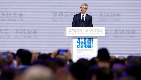 Šéf společnosti Apple, Inc Tim Cook - Sputnik Česká republika