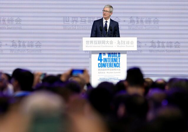 Šéf společnosti Apple, Inc Tim Cook
