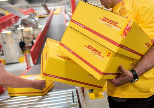 Zásilky DHL