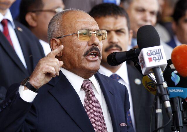 Bývalý jemenský prezident Alí Abdalláh Sálih