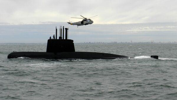 Argentinská ponorka San Juan - Sputnik Česká republika