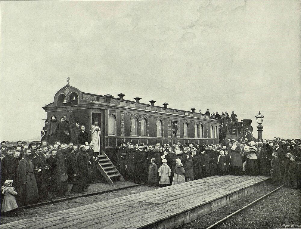 100 let Transsibiřské magistrály