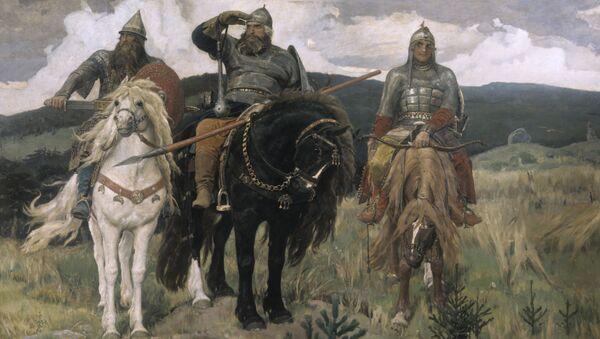 V.M.Vasněcov - Tři bohatýři - Sputnik Česká republika