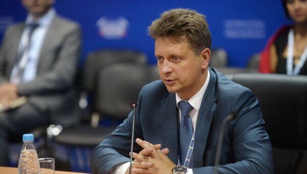 Ruský ministr dopravy Maxim Sokolov - Sputnik Česká republika