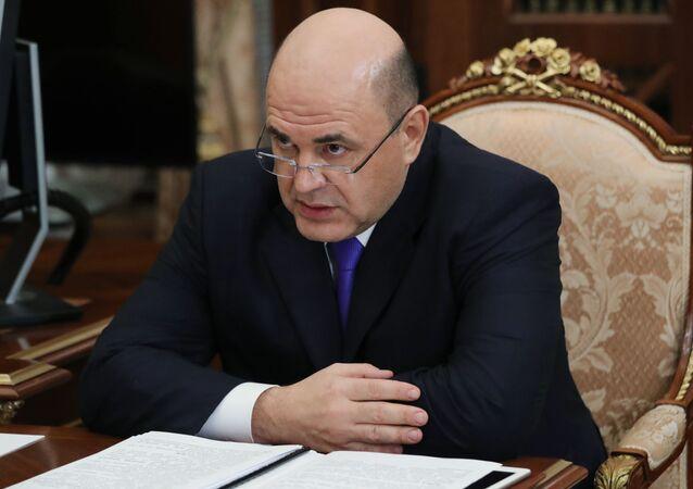 Ředitel federální daňové služby Michail Mišustin
