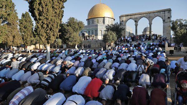 Palestinští muslimové v Jeruzalému - Sputnik Česká republika