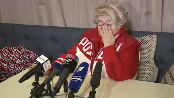 Reakce Taťjany Tarasovové na rozhodnutí MOV. Video - Sputnik Česká republika
