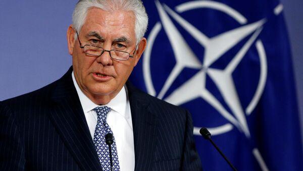 Ministr zahraničních věcí USA Rex Tillerson - Sputnik Česká republika