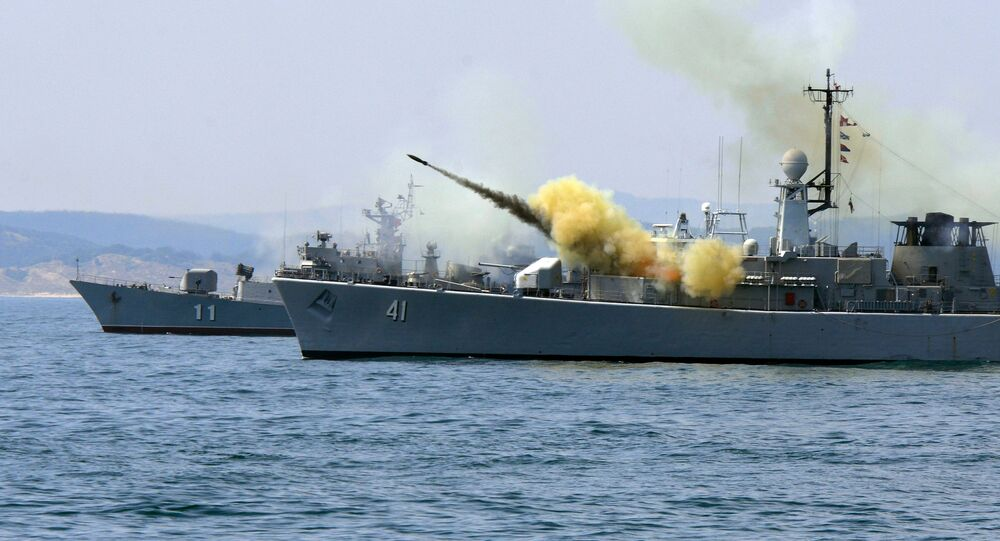 Vojenská cvičení v Bulharsku
