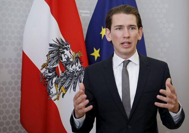 Rakouský ministr zahraničí Sebastian Kurz