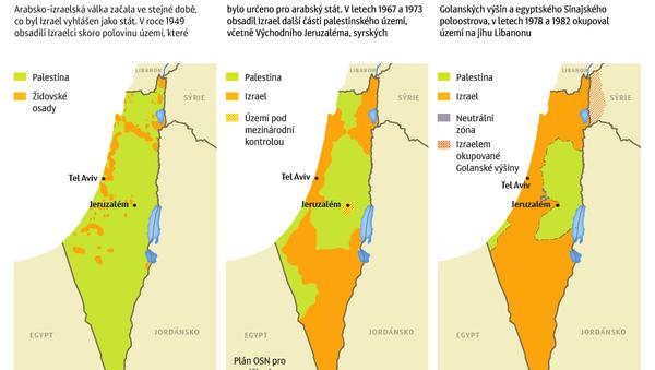 Izraelsko-palestinský konflikt - Sputnik Česká republika