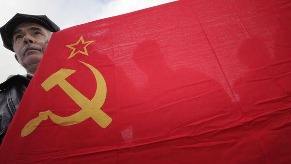 Vlajka Sovětského svazu - Sputnik Česká republika
