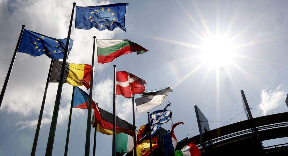 Vlajky členských zemí EU