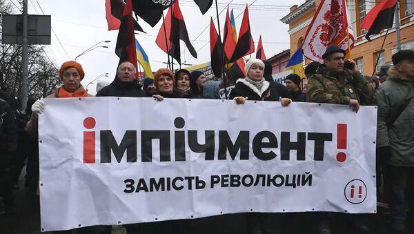 V Kyjevě se konal pochod zastánců Michaila Saakašviliho - Sputnik Česká republika