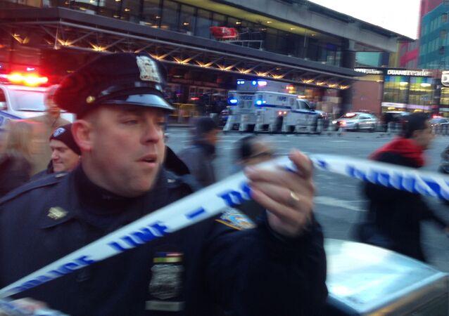 Policie v New Yorku (ilustrační foto)