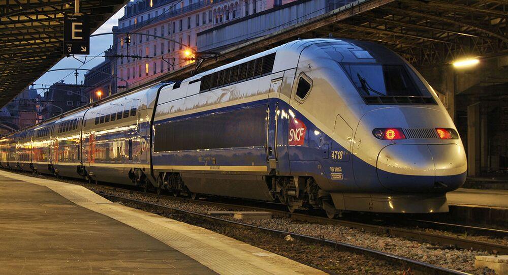 Vlak. Ilustrační foto