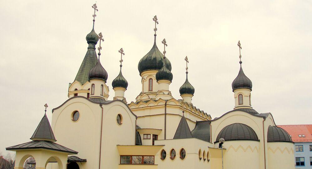 Pravoslavná katedrála Alexandra Něvského ve slovenském Prešově