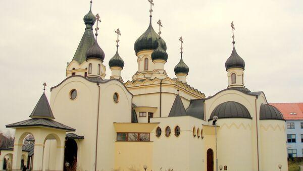 Pravoslavný katedrální chrám sv. knížete A. Něvského v Prešově - Sputnik Česká republika
