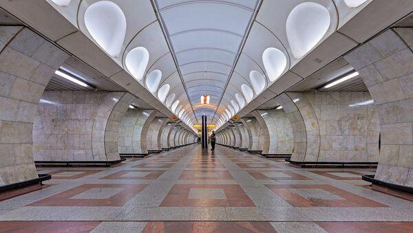 Stanice pražského metra Anděl - Sputnik Česká republika