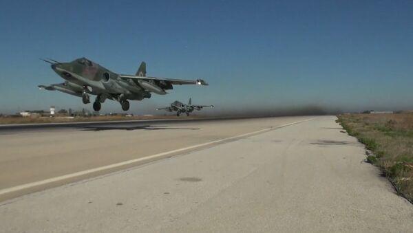 Ruská letadla odlétají ze Sýrie - Sputnik Česká republika