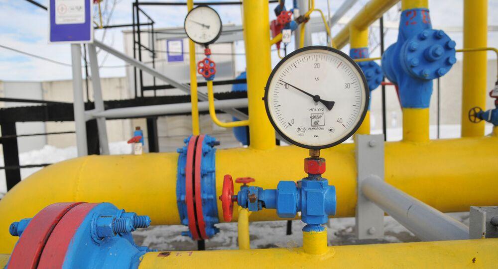 Plynový hub na Ukrajině